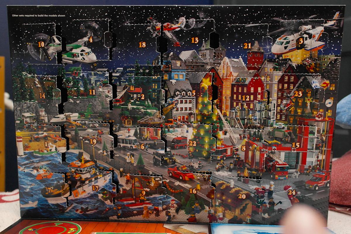Calendrier City.Calendrier De L Avent Lego City 2013 Jour 24 Le Blog De